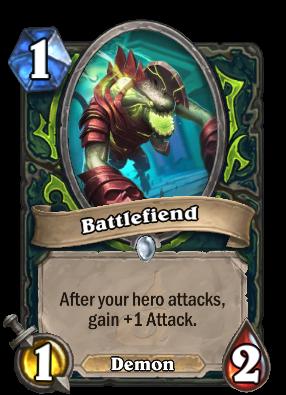 Demon Hunter Deckbuilder Hearthpwn