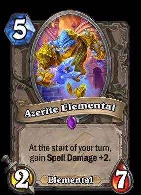 Azerite Elemental Cards Hearthstone