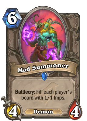 Mad Summoner - Cards - Hearthstone