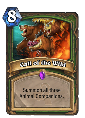 Call Of The Wild Cards Hearthstone