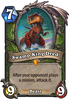 Swamp King Dred - Cards - Hearthstone